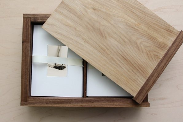 Dual 5×7″ Wooden Box with Mini-Mats