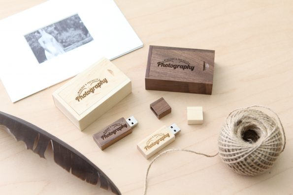 5-Pack Thin USB Drives w/Small Boxes