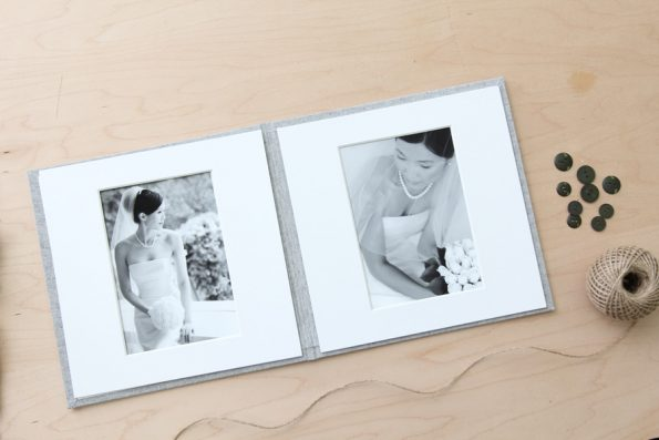 2-Panel Ready-To-Ship Matted Folio