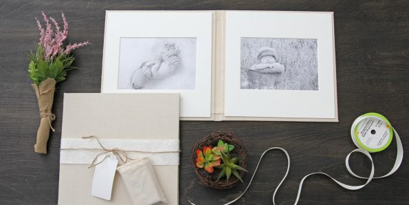 Matted Folio with USB Drive