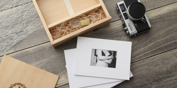 5×7″ Wood Proof Boxes With Mats